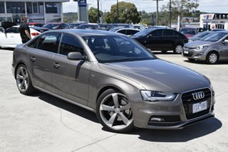2013 Audi A4 B8 8K MY13 S Tronic Quattro Grey 7 Speed Sports Automatic Dual Clutch Sedan.
