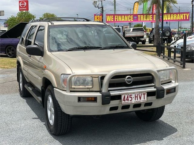 Used Nissan Pathfinder WX II ST Archerfield, 2003 Nissan Pathfinder WX II ST Gold 4 Speed Automatic Wagon