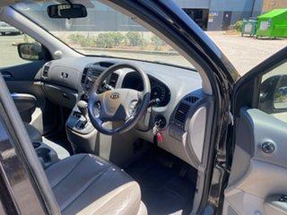 2008 Kia Grand Carnival VQ MY07 EX Black 5 Speed Sports Automatic Wagon