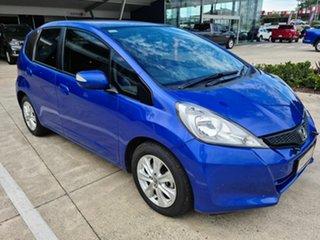 2013 Honda Jazz Vibe Blue 5 Speed Automatic Hatchback.