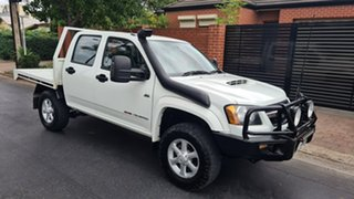 2010 Holden Colorado RC MY11 LX-R (4x4) White 5 Speed Manual Crew Cab Pickup.