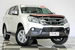2016 Isuzu MU-X UC MY15.5 LS-U (4x2) White 5 Speed Automatic Wagon.