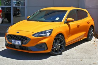 2020 Ford Focus SA 2020.25MY ST Orange 6 Speed Manual Hatchback