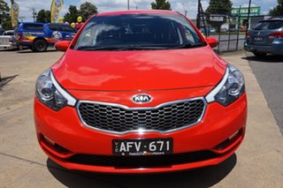 2015 Kia Cerato YD MY15 S Premium Red 6 Speed Sports Automatic Hatchback
