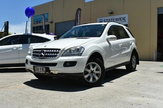 2007 Mercedes-Benz ML280 CDI W164 4x4 White 7 Speed Automatic G-Tronic Wagon.