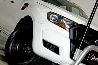 2015 Ford Ranger PX MkII XL 2.2 Hi-Rider (4x2) White 6 Speed Automatic Crew Cab Pickup.