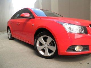 2010 Holden Cruze JG CDX Sting Red 6 Speed Sports Automatic Sedan