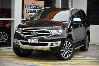 2019 Ford Everest UA II 2019.75MY Titanium Black 10 Speed Sports Automatic SUV