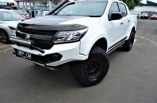 Used Holden Colorado RG MY20 Z71 Pickup Crew Cab Seaford, 2019 Holden Colorado RG MY20 Z71 Pickup Crew Cab White 6 Speed Sports Automatic Utility