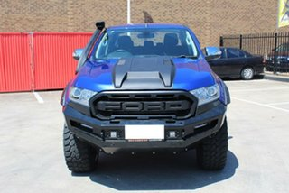 2015 Ford Ranger PX MkII XLT 3.2 (4x4) Blue 6 Speed Automatic Double Cab Pick Up.