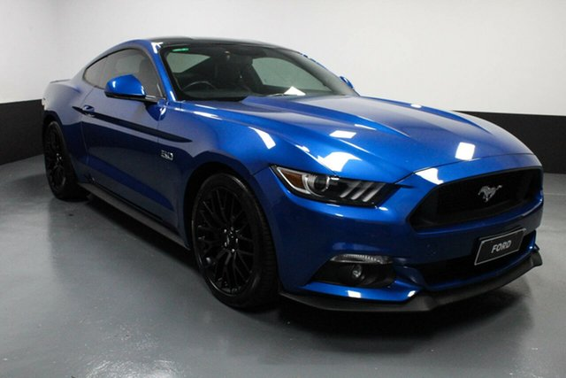 Used Ford Mustang FM 2017MY GT Fastback SelectShift Rutherford, 2017 Ford Mustang FM 2017MY GT Fastback SelectShift Blue 6 Speed Sports Automatic Fastback
