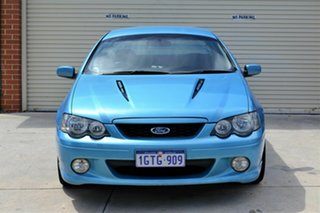 2004 Ford Falcon BA Mk II XR8 Ute Super Cab Blue 4 Speed Sports Automatic Utility.