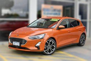 2019 Ford Focus SA 2019.75MY Titanium Orange 8 Speed Automatic Hatchback.