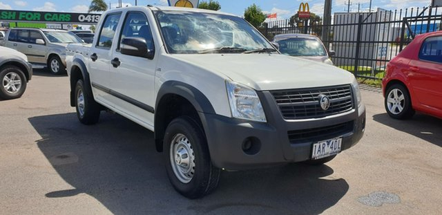 Used Holden Rodeo RA MY08 LX Crew Cab 4x2 Cheltenham, 2008 Holden Rodeo RA MY08 LX Crew Cab 4x2 White 4 Speed Automatic Utility