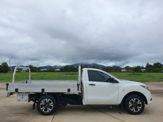 2018 Mazda BT-50 UR0YE1 XT 4x2 White 6 Speed Manual Cab Chassis