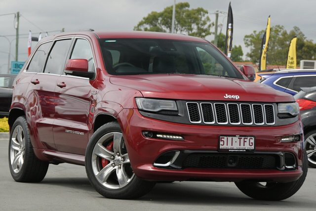 Used Jeep Grand Cherokee WK MY2013 SRT-8 Aspley, 2013 Jeep Grand Cherokee WK MY2013 SRT-8 Red 5 Speed Sports Automatic Wagon