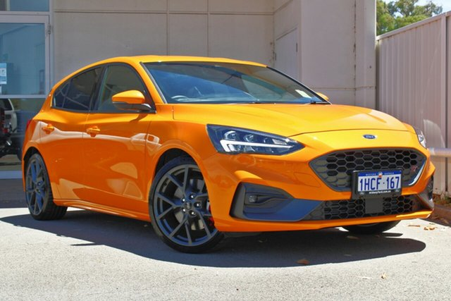 Demo Ford Focus SA 2020.25MY ST Midland, 2020 Ford Focus SA 2020.25MY ST Orange 6 Speed Manual Hatchback