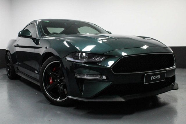 Used Ford Mustang FN 2019MY BULLITT Rutherford, 2019 Ford Mustang FN 2019MY BULLITT Bright Highland Green 6 Speed Manual Fastback