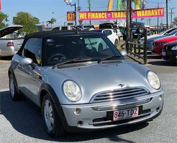 Used Mini Cabrio R52 Cooper Archerfield, 2005 Mini Cabrio R52 Cooper Silver 5 Speed Manual Convertible