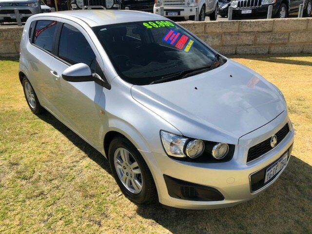 Used Holden Barina TM MY13 CD Wangara, 2012 Holden Barina TM MY13 CD Silver 6 Speed Automatic Hatchback