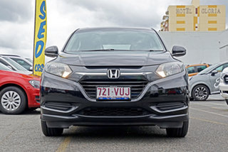 2015 Honda HR-V MY15 VTi Black 1 Speed Constant Variable Hatchback.