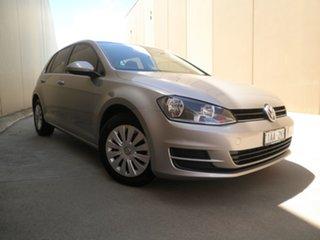 2013 Volkswagen Golf VII MY14 90TSI DSG Antimonial Silver Metallic 7 Speed.
