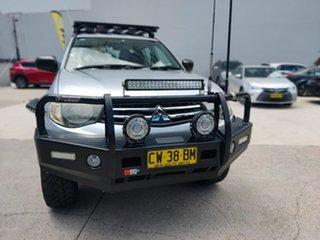 2014 Mitsubishi Triton GLX Silver Sports Automatic Dual Cab Utility