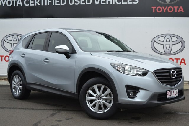 Pre-Owned Mazda CX-5 MY15 Maxx Sport (4x2) Warwick, 2016 Mazda CX-5 MY15 Maxx Sport (4x2) Silver 6 Speed Automatic Wagon