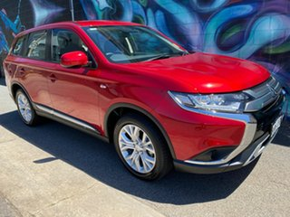 2020 Mitsubishi Outlander ZL MY21 ES AWD Red Diamond 6 Speed Constant Variable Wagon.