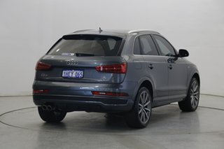 2017 Audi Q3 8U MY18 TDI S Tronic Quattro Sport Gunmetal Grey 7 Speed Sports Automatic Dual Clutch