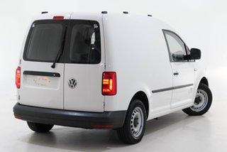 2017 Volkswagen Caddy 2KN MY17.5 TSI160 SWB Runner White 5 Speed Manual Van.
