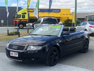 2005 Audi A4 B6 Blue 1 Speed Constant Variable Cabriolet.