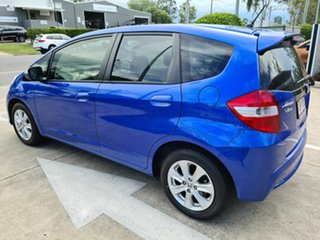 2013 Honda Jazz Vibe Blue 5 Speed Automatic Hatchback