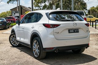 2019 Mazda CX-5 KF4WLA Akera SKYACTIV-Drive i-ACTIV AWD White 6 Speed Sports Automatic Wagon.