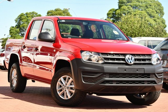Demo Volkswagen Amarok 2H MY20 TDI420 4MOTION Perm Core Victoria Park, 2020 Volkswagen Amarok 2H MY20 TDI420 4MOTION Perm Core Tornado Red 8 Speed Automatic Utility