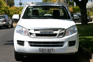 2015 Isuzu D-MAX MY15 SX 4x2 White 5 Speed Manual Cab Chassis