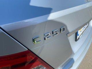 2012 Mercedes-Benz C-Class W204 MY12 C250 CDI BlueEFFICIENCY 7G-Tronic + Elegance Silver 7 Speed