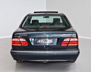 2001 Mercedes-Benz E-Class W210 MY01 E240 Elegance Blue 5 Speed Sports Automatic Sedan