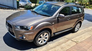 2012 Mitsubishi Outlander ZH MY12 Activ (FWD) Bronze 6 Speed CVT Auto Sequential Wagon.