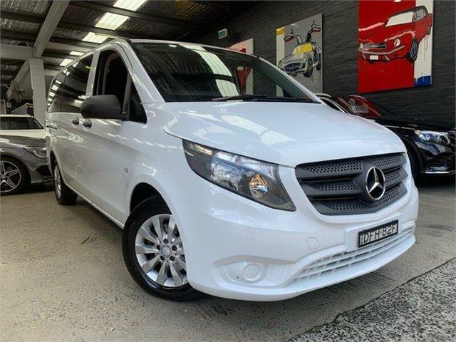 Used Mercedes-Benz Valente 447 Glebe, 2016 Mercedes-Benz Valente 447 116BlueTEC White Sports Automatic Wagon