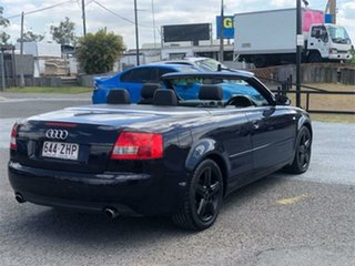 2005 Audi A4 B6 Blue 1 Speed Constant Variable Cabriolet