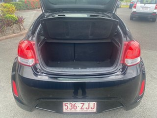 2012 Hyundai Veloster FS Coupe Black 6 Speed Manual Hatchback