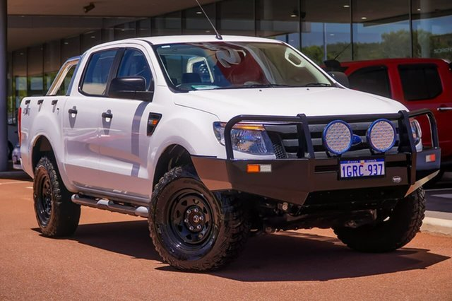 Used Ford Ranger PX XL Gosnells, 2014 Ford Ranger PX XL White 6 Speed Manual Utility