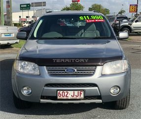 2006 Ford Territory SY Ghia Grey 6 Speed Sports Automatic Wagon