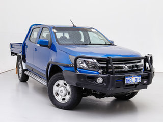 2018 Holden Colorado RG MY19 LS (4x2) Blue 6 Speed Automatic Crew Cab Chassis.