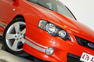 2005 Ford Falcon BA MkII XR8 Orange 4 Speed Auto Seq Sportshift Sedan.