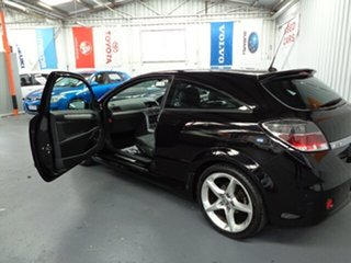 2006 Holden Astra AH MY06.5 SRI Turbo Black 6 Speed Manual Coupe