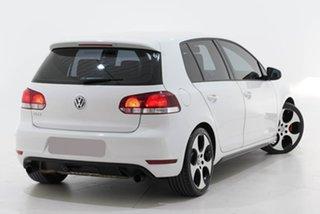 2010 Volkswagen Golf VI MY10 GTI DSG White 6 Speed Sports Automatic Dual Clutch Hatchback.