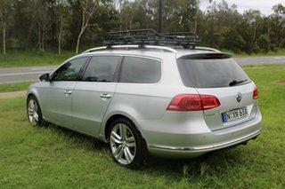 2011 Volkswagen Passat Type 3C MY12 V6 FSI DSG 4MOTION Highline Silver 6 Speed