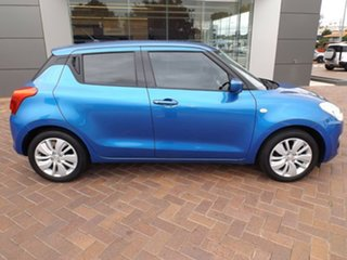 2019 Suzuki Swift AZ GL Blue 5 Speed Manual Hatchback.